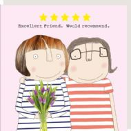 Rosie Made a Thing 'Excellent Friend' Card